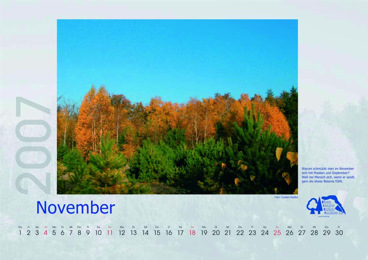Kalender 2007